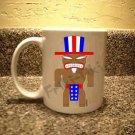 FRIKI-TIKI   Ameri-Tiki   11oz Ceramic Coffee Mug - NEW Collectible