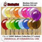 Balloon clip art clipart PERSONAL or COMMERCIAL USE
