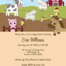 Animal Acres Farm Animal Baby Shower NEUTRAL AAK (DIGITAL)