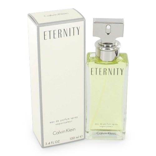 Eternity Perfume by Calvin Klein for Women EDP 3.4 oz