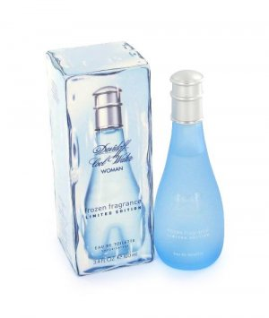 Cool Water Frozen Perfume by Davidoff for Women EDT 3.4 oz