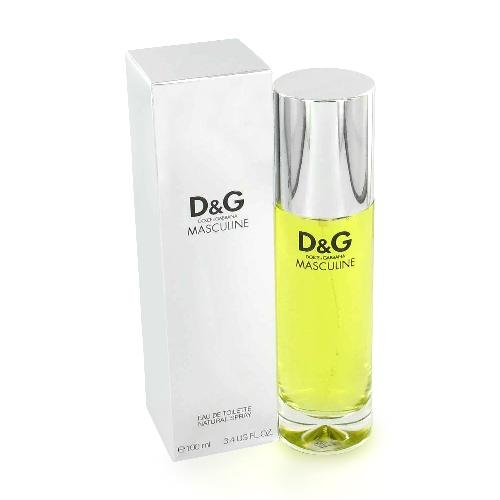 Masculine Cologne by Dolce & Gabbana for Men EDT 3.4 oz