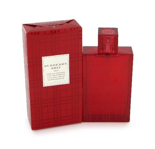 Burberry Brit Red Perfume by Burberrys for Women EDP 3.4 oz