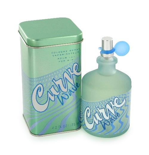Curve Wave Cologne by Liz Claiborne for Men EDT 4.2 oz