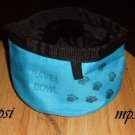 SALE* Blue Dog Cat Travel Water Dish