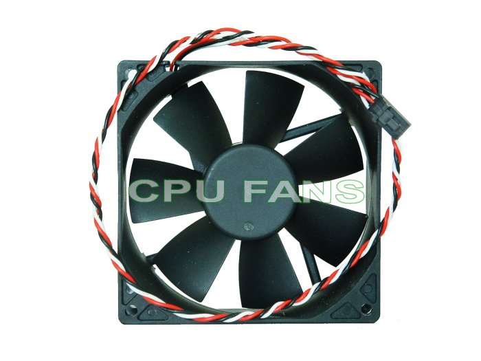 92mm Cooling Fan Dell 3-pin connector replaces JMC Datech 0925-12HBTA