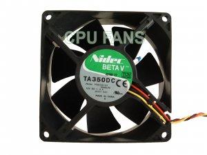 Dell Dimension 1100 B110 Fan CPU Case Fan J0531 K0456 0K0456 92x38mm 3-Pin Dell Connector