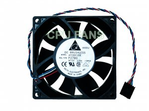 Dell PowerEdge SC1420 92x38mm PWM Control Computer Case Cooling Fan 5-pin/4-wire connector