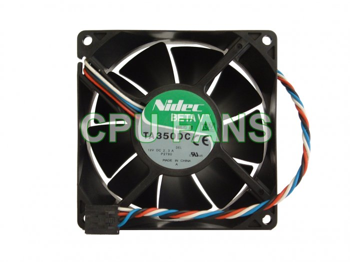 Dell Poweredge SC420 Case Cooling Fan P2780 PWM Control 92x38mm 5-pin/4wire