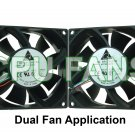 Dell XPS 600 XPS600 Fans Gen 5 G5 J9705 XF731 Dual CPU Case Fans 92x38mm  5-pin/4-wire