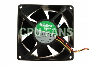 Dell Dimension 1100 CPU Fan Case Cooling D1601 0D1601 92x38mm