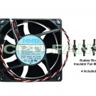 Dell Dimension 8250 Fan Dell CPU Cooling Fan & Rubber Fan Mounts