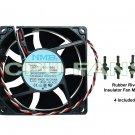 Dell Dimension 4400 Fan Dell Replacement CPU Cooler Case Fan Rubber Fan Mounts