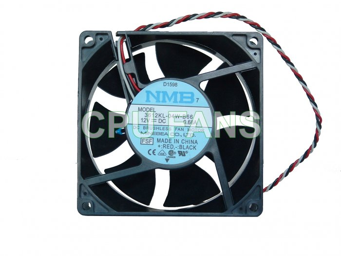 Dell D1598 Fan 3612KL-04W-B66 Cooling CPU Cooling Fan Original Replacement Fan