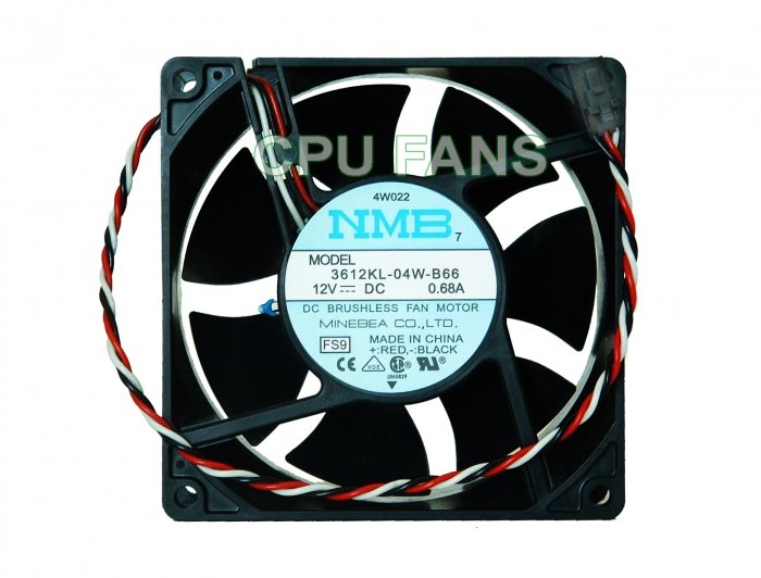 Dell Fan Precision Workstation 340 CPU Cooling Fan 4W022 P0676 92x32mm