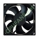 HP Pavilion P6242F CPU Processor Heatsink Fan AU915AA AU915AAR 80mm x 25mm 4-pin