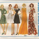 Vogue 1044 Sewing Pattern 1970's  A-line Dress Size 12 2 lengths 3 sleeves Bust 34