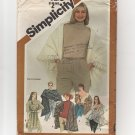 Simplicity 5210 Set of Shawls and Poncho 1980s one size 1980s UC