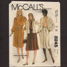 McCall's 8245 Sewing Pattern Jones New York Misses Blouse, Skirt and Jacket Bust 34 1980s