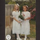 Ginger's White Collection by Ginger Snaps Designs  Nancy Coburn Girls 4 – 14 1990s