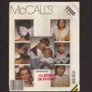 McCall's 3205 8 Bows and 13 Collars Misses and Girls Sewing Pattern Marti Michell designer
