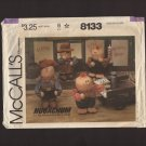 McCall's 8133 Hugachum Dolls Stuffed Cowboy Cowgirl Farmer Boy and Girl Sewing Pattern