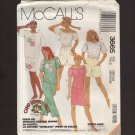 McCall's 3665 Misses Tops, Skirt, Pants and Shorts Sewing Pattern Medium Bust 36 38 1980s