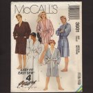 McCall's 3931 Misses, Men's, Or Teen Boys Robe and Tie Belt Sewing Pattern 36-38 Bust 36 38 1980s