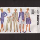 Butterick 6937 Misses Jacket Top Skirt Shorts Pants Sewing Pattern 12–16 Bust 34 36 38 2000s