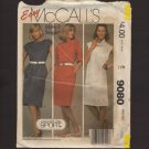 Misses Dresses For Stretch Knit McCall's 9080 Easy Sewing Pattern Size 18 20 Bust 40 42 1980s