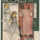 Children's Jumper, Blouse and Petticoat or Skirt McCall's 8973 Laura Ashley Size Child 3 1980s