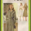 Simplicity 9037 Misses Wrap Front Dress with Tie Belt Sewing Pattern Size 14 Bust 36 1970s