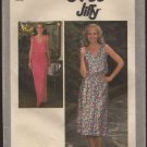 Simplicity 8955 Pullover Dress Elasticized Waist Jiffy Sewing Pattern Size 6 Bust 30.5 1970s