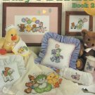 Baby&#39;s Buddies Book 2 Cross Stitch 12 Designs by Ginny Fraser  Leisure Arts Leaflet 2555