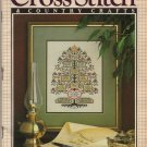 Cross Stitch & Country Crafts May/June 1988 Magazine Wedding Keepsakes, Victorian Garden, Teatime