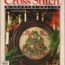 Cross Stitch & Country Crafts Nov/Dec 1991 Santas of Fable & Fantasy, Quick & Easy Trims & Gifts