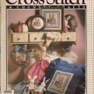 Cross Stitch & Country Crafts Magazine Jan/Feb 1990 Bunnies, Spring Wreath, Valentine Desk