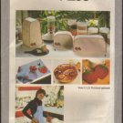 Simplicity 9255 Kitchen Appliance Covers Apron Pot Holders Bun Warmer Placemat Napkin Sewing Pattern