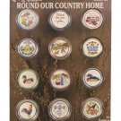 Kount on Kappie Round Our Country Home - 24 Cross Stitch Projects - Book No. 80 - Needlepoint