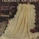 Absolutely Gorgeous Leisure Arts Leaflet 2559 3 Crocheted Afghans by Ann Kirtley