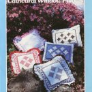Cathedral Window Pillows - A Patchwork Pattern and Instructions by Yours Truly No. 3727
