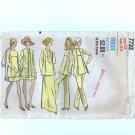 Vintage 1970s Misses Tunic, Jacket, Skirt, Pants Vogue 7733 Sewing Pattern Size 12 Bust 34 uncut