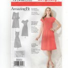 Simplicity 1914 Amazing Fit Sewing Pattern Dress 3 sleeve length 20W–28W Bust 42 44 46 48 50 2012