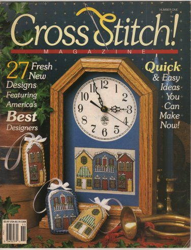 Cross Stitch! Magazine Number One October - November 1990