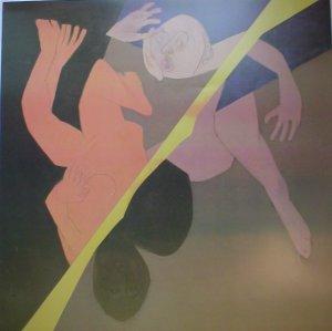 "Tyeb Mehta Indian contemporary art "" Diagonal"""