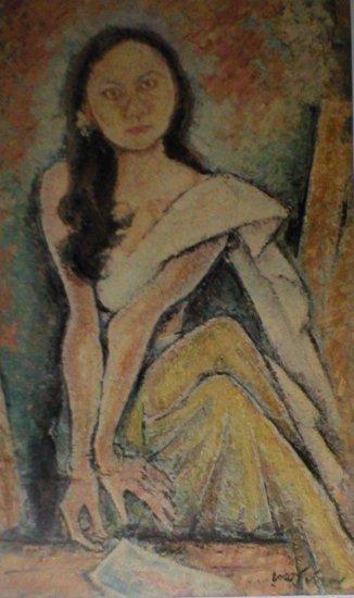 "Ramkinker Baij ""Binodini""  Indian contemporary art"