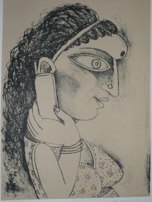 Untitled by Paritosh Sen