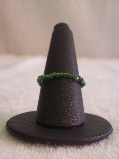 Simple ring, dark green