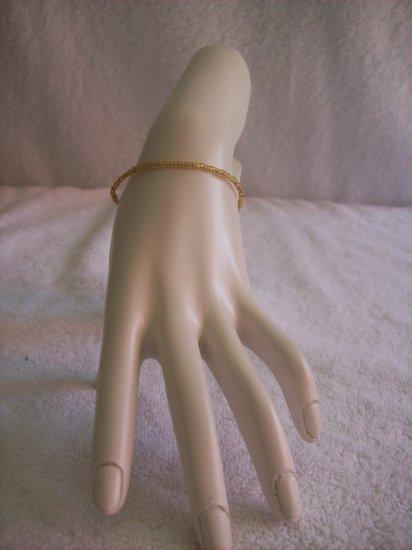 Beaded bracelet, gold