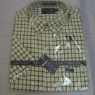 men short Sleeve Sports Shirts in several colors of checks & plaids,poly/cotton